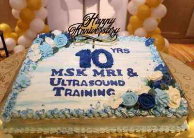 22. 10th Anniversary Cake
