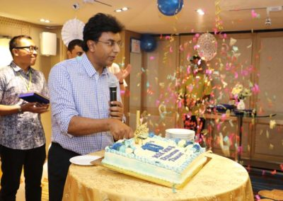 26. Cake cutting ceremony