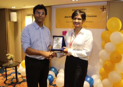 27. Token of appreciation to Dr Kavitha (faculty since 2012)